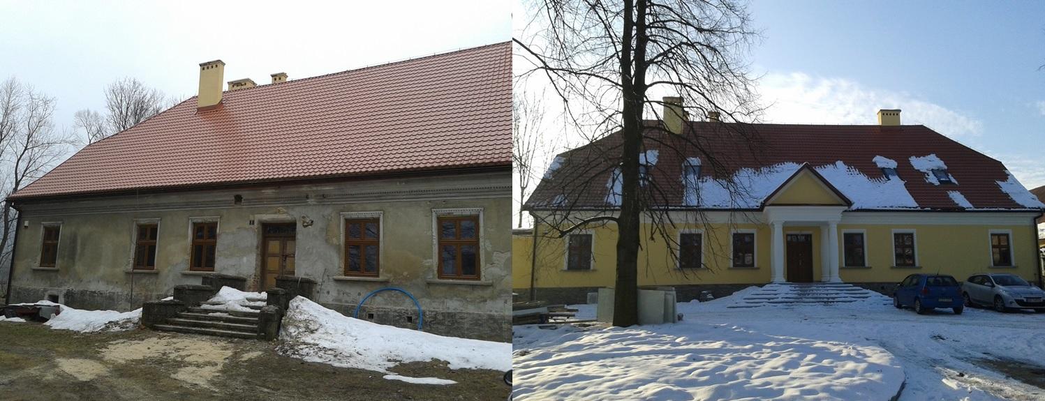 Stara Plebania w Jeleśni - inspektorem nadzoru firma Tobud z Bielska-Białej