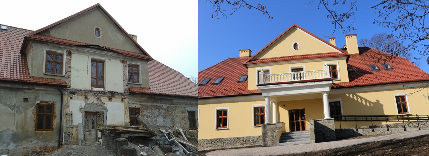 Stara Plebania w Jeleśni - prace nadzorowała firma Tobud z Bielska-Białej