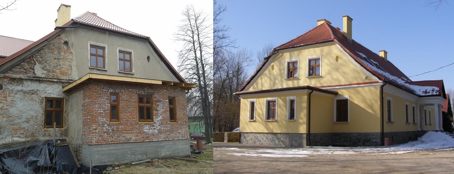 Remont Starej Plebanii w Jeleśni - inspektorem nadzoru firma Tobud z Bielska-Białej